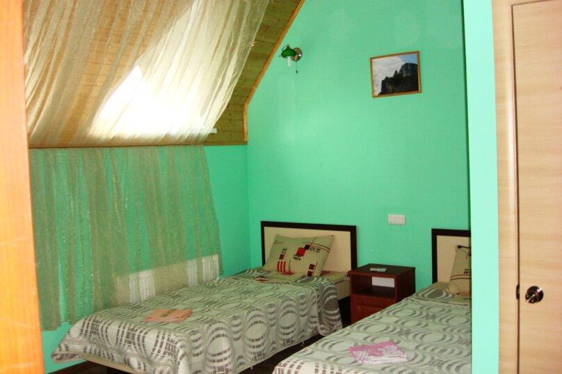 Двухместный номер с двумя отдельными кроватями, 2-й Профсоюзный проезд, 3, Феодосия - Фотография 3