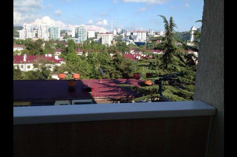 1-комн. квартира, 30 кв.м. на 3 человека, Красноармейская улица, 7, Заречный, Сочи - Фотография 6