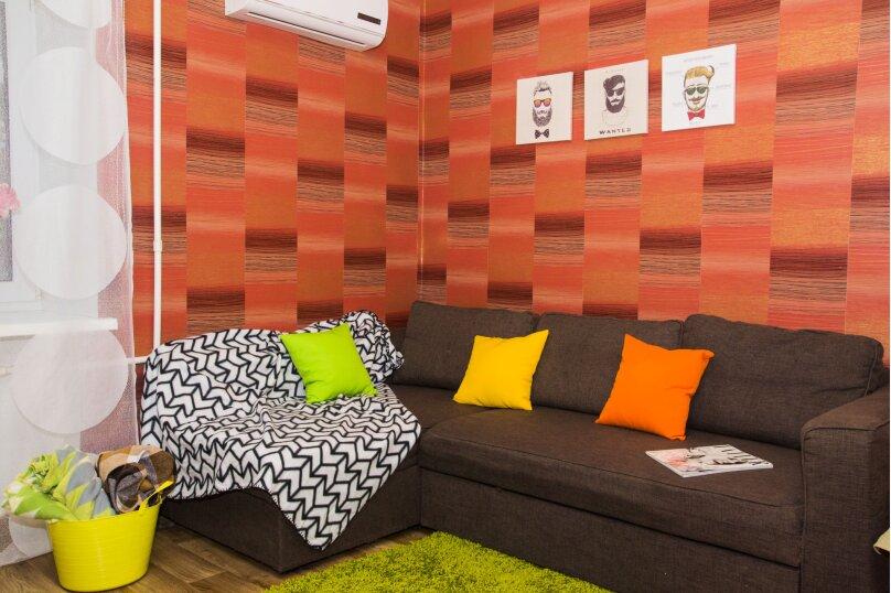 2-комн. квартира, 40 кв.м. на 4 человека, проспект Карла Маркса, 48А, Омск - Фотография 12