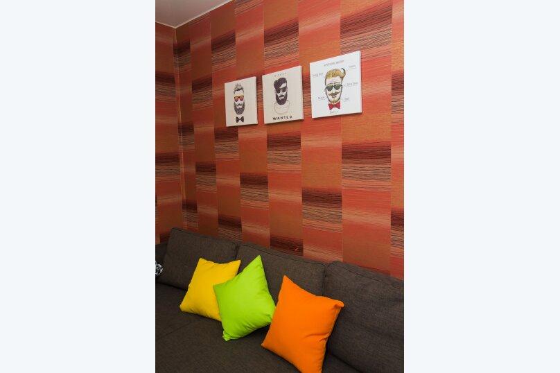 2-комн. квартира, 40 кв.м. на 4 человека, проспект Карла Маркса, 48А, Омск - Фотография 14