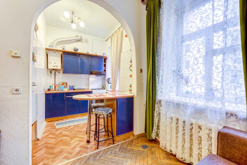 2-комн. квартира, 35 кв.м. на 5 человек, Мытнинский переулок, Санкт-Петербург - Фотография 4