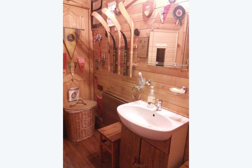 Деревянный комфортный гостевой дом, 160 кв.м. на 6 человек, 4 спальни, Цветочная улица, 5А, Суздаль - Фотография 16