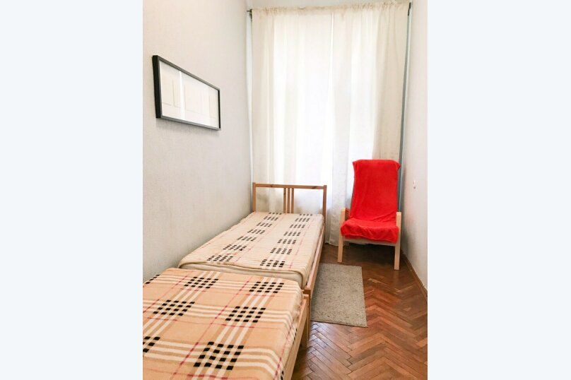 2-комн. квартира, 56 кв.м. на 6 человек, 8-я Советская улица, 33, Санкт-Петербург - Фотография 9
