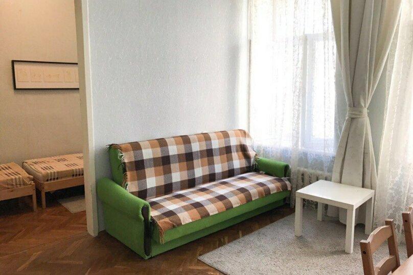 2-комн. квартира, 56 кв.м. на 6 человек, 8-я Советская улица, 33, Санкт-Петербург - Фотография 1