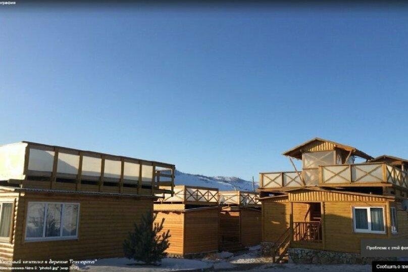 Домик с террасой двухместный, Прибайкальская, 3, Иркутск - Фотография 1