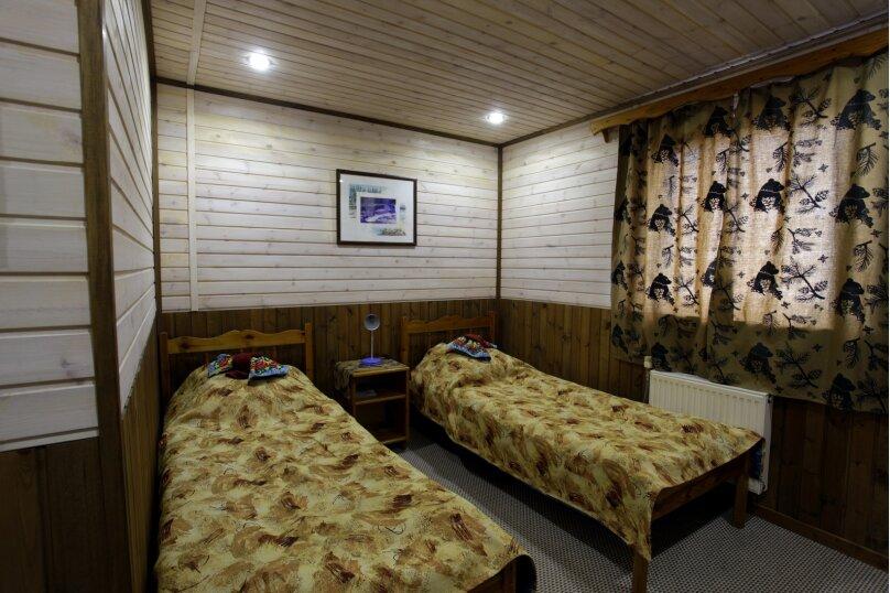 Двухместный стандарт (2 односпальные кровати), Советская улица, 28А, Калевала - Фотография 1
