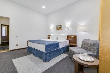 Deluxe:  Номер, Люкс, 3-местный (2 основных + 1 доп), 1-комнатный, Отель, Гродненский переулок на 7 номеров - Фотография 2