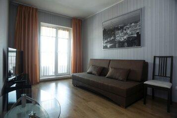 2-комн. квартира, 80 кв.м. на 6 человек, улица Шевченко, Новосибирск - Фотография 1