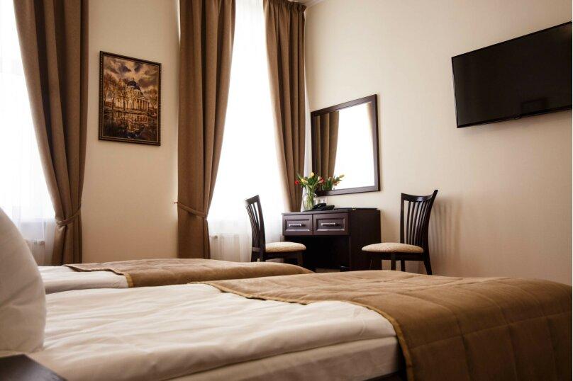 Стандартный двухместный номер с двумя отдельными кроватями, Загородный проспект, 5, Санкт-Петербург - Фотография 1