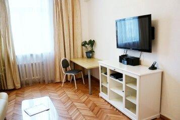 3-комн. квартира, 85 кв.м. на 4 человека, 1-я Тверская-Ямская улица, метро Белорусская, Москва - Фотография 1