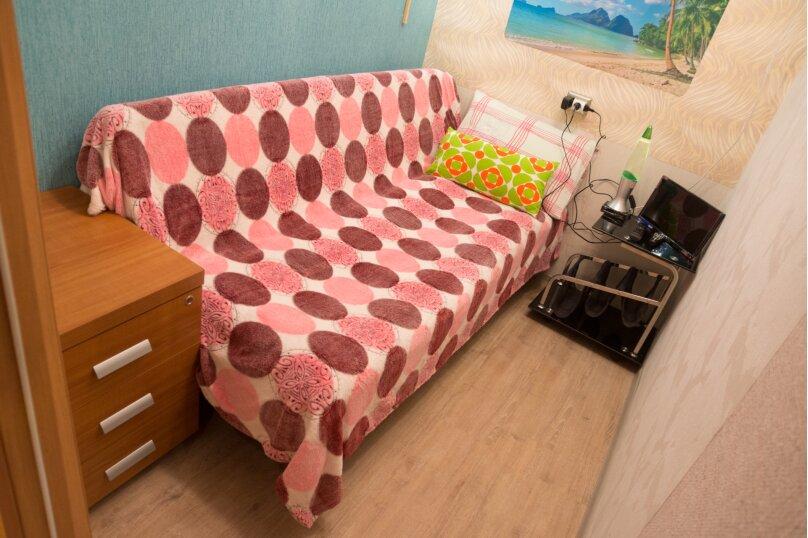Одноместный номер одной двуспальной кроватью, Заречная улица, 9, Щелково - Фотография 1