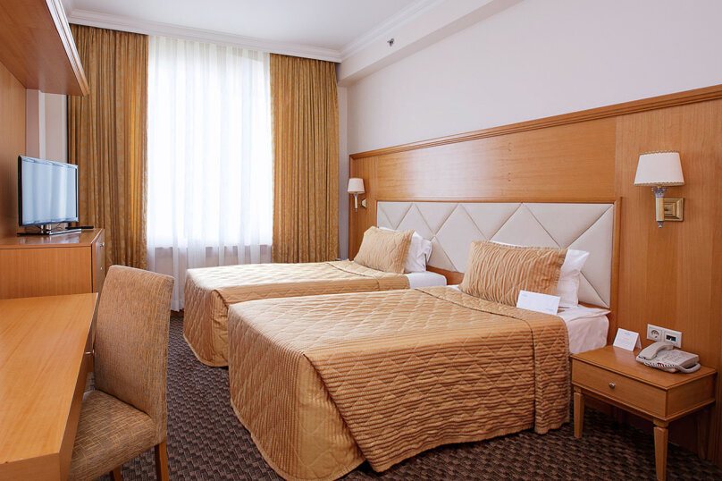 Двухместный стандарт с двумя раздельными кроватями, Шипиловская улица, 28А, Москва - Фотография 1