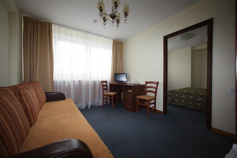 Standart dbl/twin 2 rooms (Стандарт двухкомнатный с 1 двуспальной кроватью или 2 отдельными кроватями), Октябрьский переулок, 12, Москва - Фотография 1