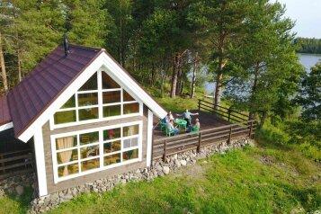 Гостевой дом на берегу Онежского озера, 45 кв.м. на 5 человек, 2 спальни, Бережная, 1, Медвежьегорск - Фотография 1
