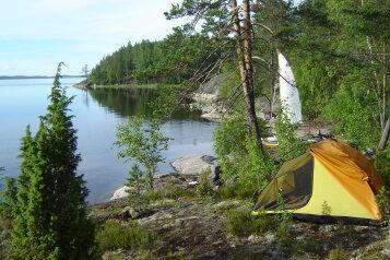 Палаточный кемпинг на Ладожском озере на границе Лен. области и республики Карелия, Остров, Ладога на 50 номеров - Фотография 2