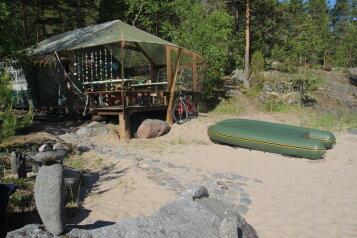 Палаточный кемпинг на Ладожском озере на границе Лен. области и республики Карелия, Остров, Ладога на 50 номеров - Фотография 3