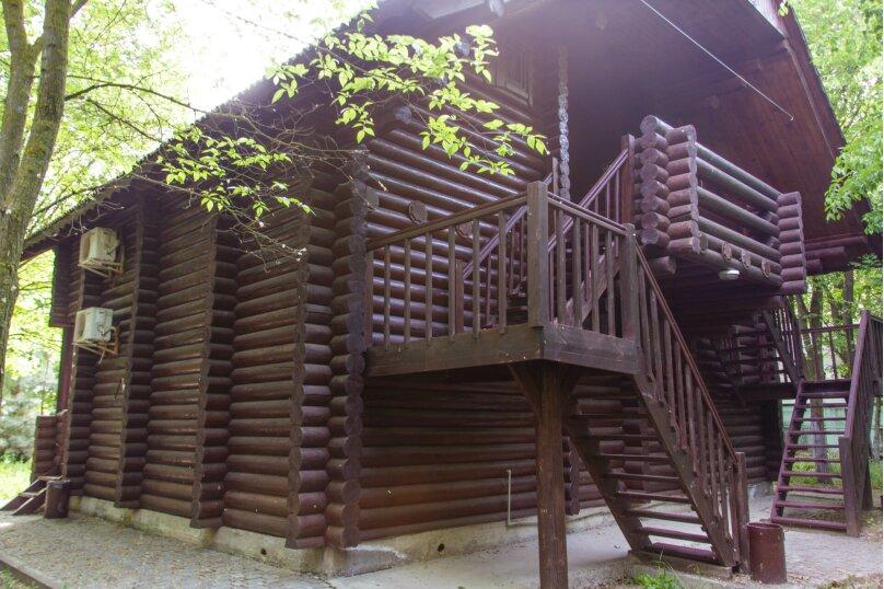 Сруб 2-комн. 4-х местный (двухэтажный), улица Елисеева, 25, Оленевка - Фотография 1