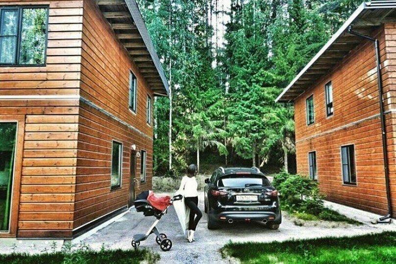 Дом на берегу озера, 120 кв.м. на 10 человек, 5 спален, Лахденпохья, 61.492929, 29.905277, Лахденпохья - Фотография 23