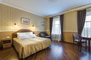 Полулюкс:  Номер, Люкс, 3-местный (2 основных + 1 доп), 1-комнатный, Гостиница, набережная канала Грибоедова на 42 номера - Фотография 4