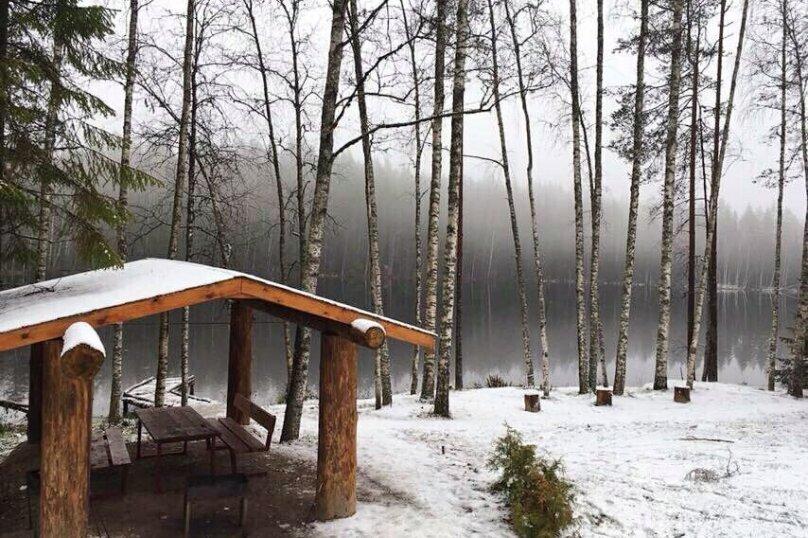 Дом на берегу озера, 120 кв.м. на 10 человек, 5 спален, Лахденпохья, 61.492929, 29.905277, Лахденпохья - Фотография 40