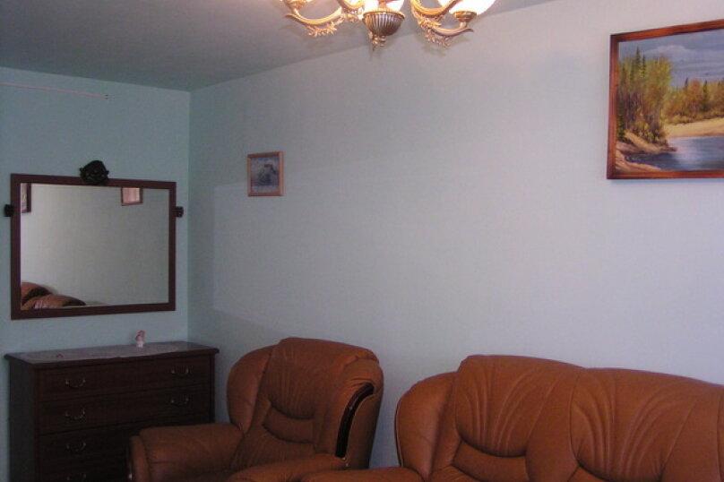 3-комн. квартира, 60 кв.м. на 8 человек, улица Дзержинского, 6, Шерегеш - Фотография 4