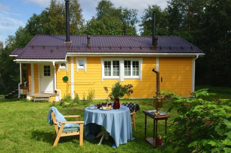 Важинское поместье - Simaništo, 102 кв.м. на 5 человек, 2 спальни, деревня Важинская Пристань, Сигнаволокская улица, 2А, Пряжа - Фотография 1