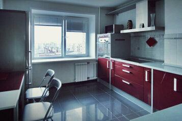2-комн. квартира, 60 кв.м. на 4 человека, улица Водопьянова, Красноярск - Фотография 1
