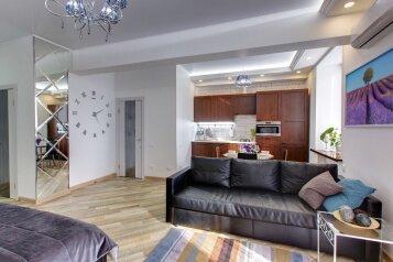 1-комн. квартира, 45 кв.м. на 4 человека, улица Бабушкина, Уфа - Фотография 2