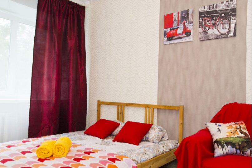 2-комн. квартира, 45 кв.м. на 6 человек, бульвар Победы, 1, Омск - Фотография 5