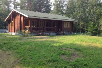 Дом, 80 кв.м. на 5 человек, 3 спальни, деревня Ууксу, 1й Лазурный переулок, 2, Питкяранта - Фотография 1