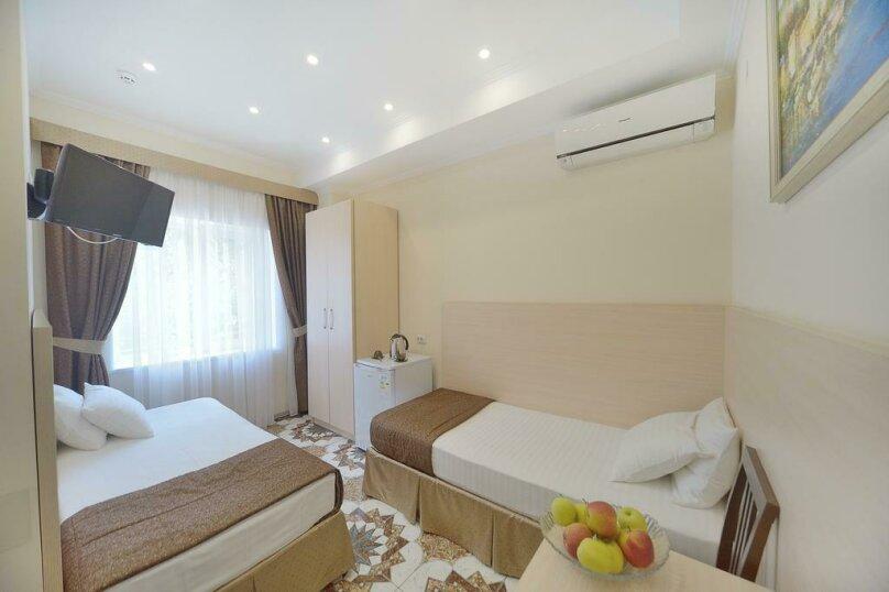 Стандартный двухместный номер с 2 отдельными кроватями, улица Лермонтова, 6, Симферополь - Фотография 1