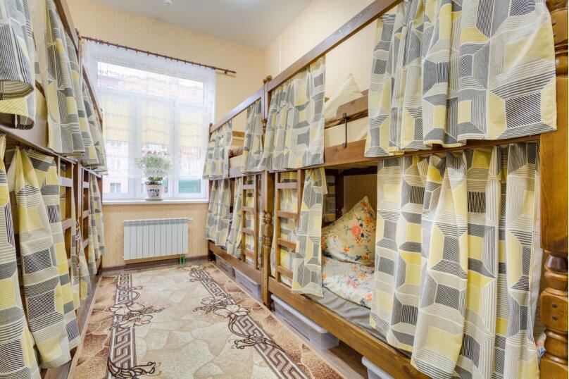 Кровать в мужском номере на 10 человек, улица Кирова, 9к3, Люберцы - Фотография 1