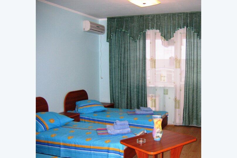 2 односпальные кровати, улица Дружбы, 5, Анапа - Фотография 1