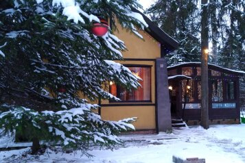 Дом, дача, 110 кв.м. на 10 человек, 2 спальни, д. Сазонки, коттеджный поселок Дубровка, Москва - Фотография 2