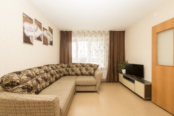 1-комн. квартира, 43 кв.м. на 5 человек, улица Чкалова, Нижний Новгород - Фотография 1