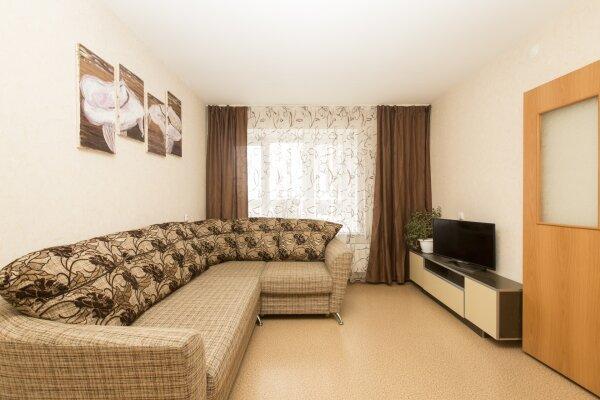 1-комн. квартира, 43 кв.м. на 5 человек, улица Чкалова, 37к1, Нижний Новгород - Фотография 1