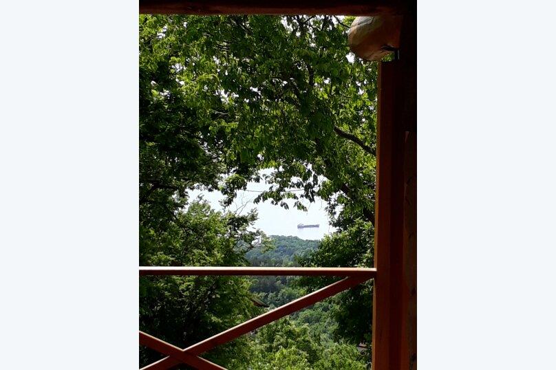 Дом бревенчатый в лесу, у моря, с бассейном., 110 кв.м. на 6 человек, 2 спальни, с\т Гранат, 86А, Туапсе - Фотография 25