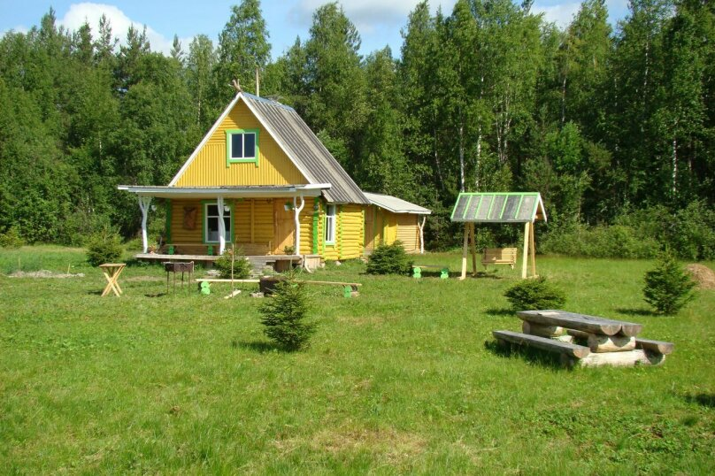 Двухэтажный дом с баней, 40 кв.м. на 6 человек, 1 спальня, дер. Войница, 1, Калевала - Фотография 7