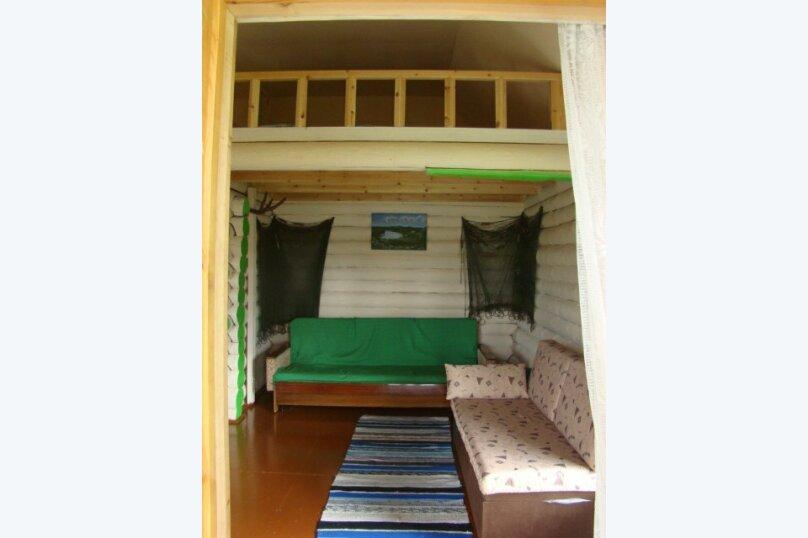 Двухэтажный дом с баней, 40 кв.м. на 6 человек, 1 спальня, дер. Войница, 1, Калевала - Фотография 17