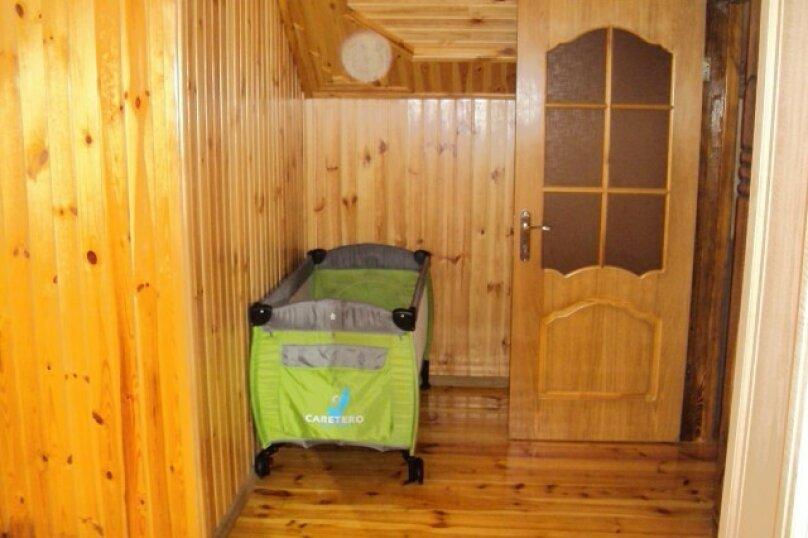 Двухэтажный деревянный сруб, 80 кв.м. на 6 человек, 3 спальни, улица Евпаторийская, 27, село Прибрежное (Евпатория) - Фотография 17