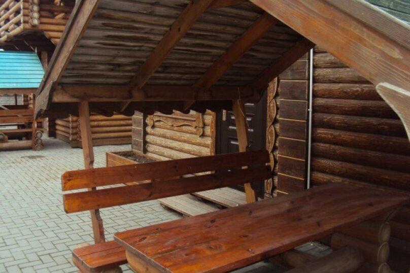 Двухэтажный деревянный сруб, 80 кв.м. на 6 человек, 3 спальни, улица Евпаторийская, 27, село Прибрежное (Евпатория) - Фотография 19