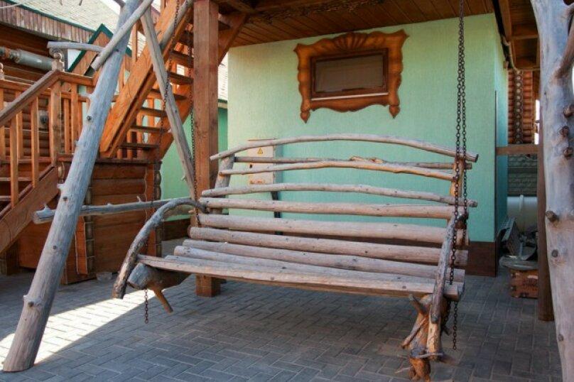 Двухэтажный деревянный сруб, 80 кв.м. на 6 человек, 3 спальни, улица Евпаторийская, 27, село Прибрежное (Евпатория) - Фотография 20