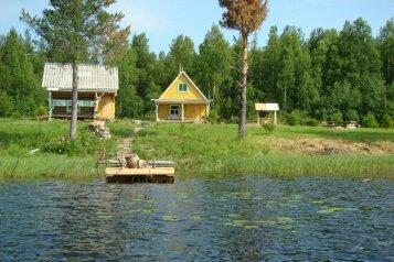 Двухэтажный дом с баней, 40 кв.м. на 6 человек, дер. Войница, Калевала - Фотография 1