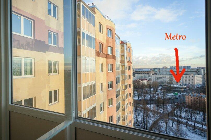 1-комн. квартира, 42 кв.м. на 4 человека, Ново-Александровская улица, 14, Санкт-Петербург - Фотография 10