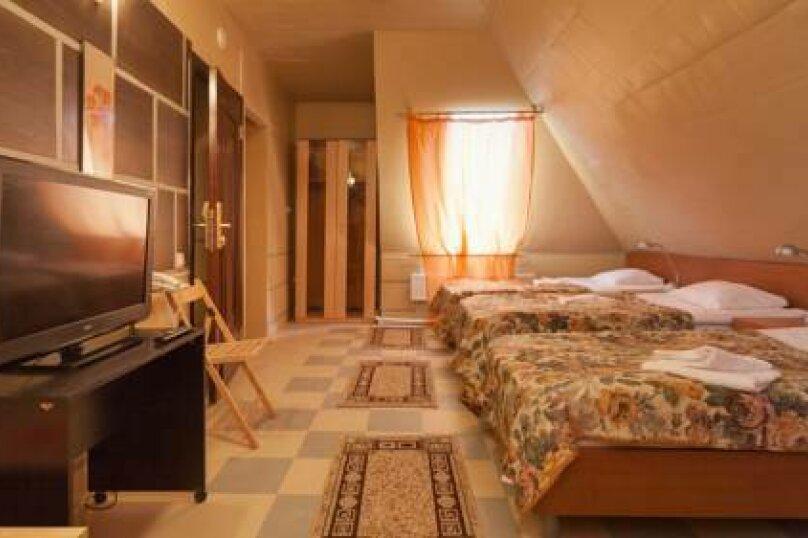 Стандартный трехместный номер, Тувинская улица, 11, Краснодар - Фотография 1
