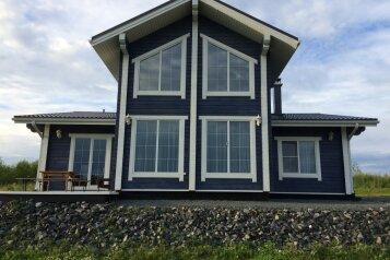 Дом, 160 кв.м. на 6 человек, 3 спальни, пос. Заозерный, 1, Сортавала - Фотография 1