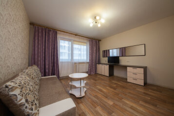 1-комн. квартира, 42 кв.м. на 4 человека, улица Алексеева, Красноярск - Фотография 1