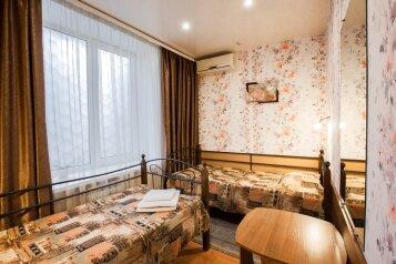 Стандарт двухместный с раздельными кроватями:  Номер, Стандарт, 2-местный, 1-комнатный, Мини-отель, улица Подольцева, 6 на 8 номеров - Фотография 2