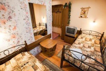 Стандарт двухместный с раздельными кроватями:  Номер, Стандарт, 2-местный, 1-комнатный, Мини-отель, улица Подольцева, 6 на 8 номеров - Фотография 3