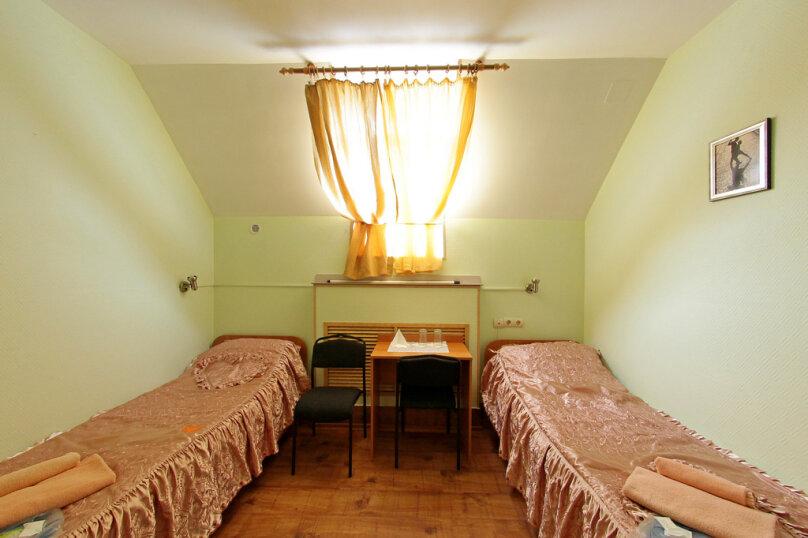 Двухместный номер с раздельными кроватями, 2-я Мытищинская улица, 2с9, метро Рижская, Москва - Фотография 1